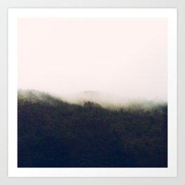 Afternoon Fog Art Print