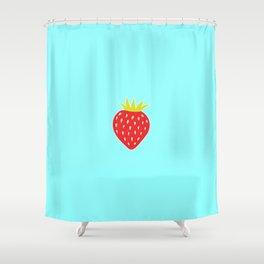 Strawberry No. 1 Shower Curtain