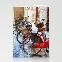 bicycles Stationery Cards featuring Bicycles by Elliott's Location Photography