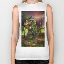 Fairy Tales Castles Biker Tank