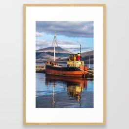Calm Harbour Framed Art Print