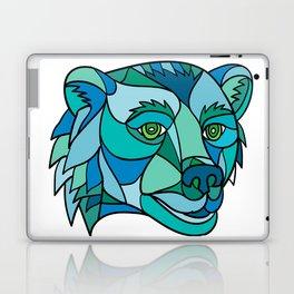 Grizzly Bear Head Mosaic Laptop & iPad Skin