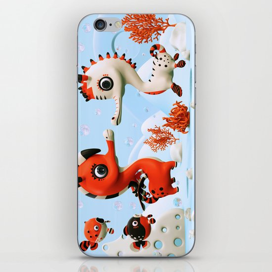Sea Love iPhone & iPod Skin