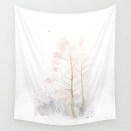 Memories of Winter Wall Tapestry
