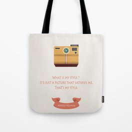 What is my style ? Tote Bag