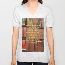 Librarians are Subversive Unisex V-Neck