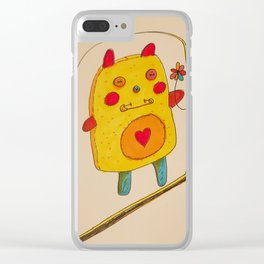 It's OK to Love Youself Clear iPhone Case