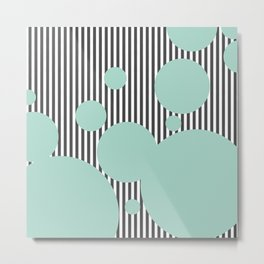 Mint Cream Dream Metal Print