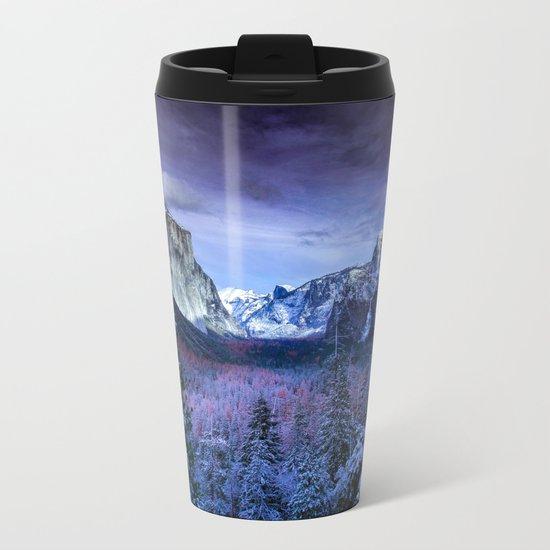Embrace Adventure Metal Travel Mug