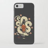 dbz iPhone & iPod Cases featuring dbz by Louis Roskosch