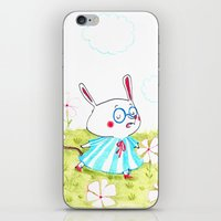 mouse iPhone & iPod Skins featuring Mouse by Maureen Poignonec
