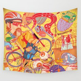 Explosion Wall Tapestry