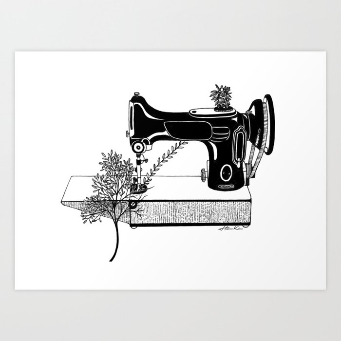 Making Tree Art Print