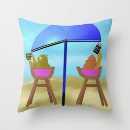 Techno Vices Throw Pillow
