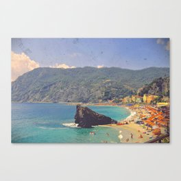 Sending You A Postcard From Italy Canvas Print