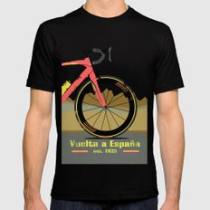 Vuelta a Espana Bike MEDIUM Black Mens Fitted Tee