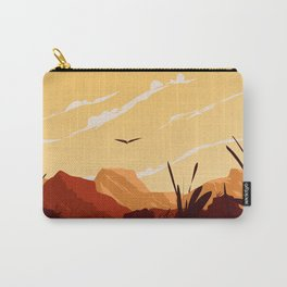 West Texas Landscape Carry-All Pouch