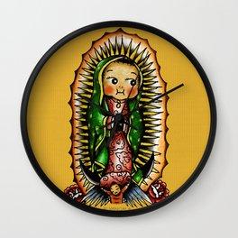 Kewpie Guadalupano Wall Clock