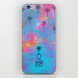 Cultivate Positivity iPhone Skin