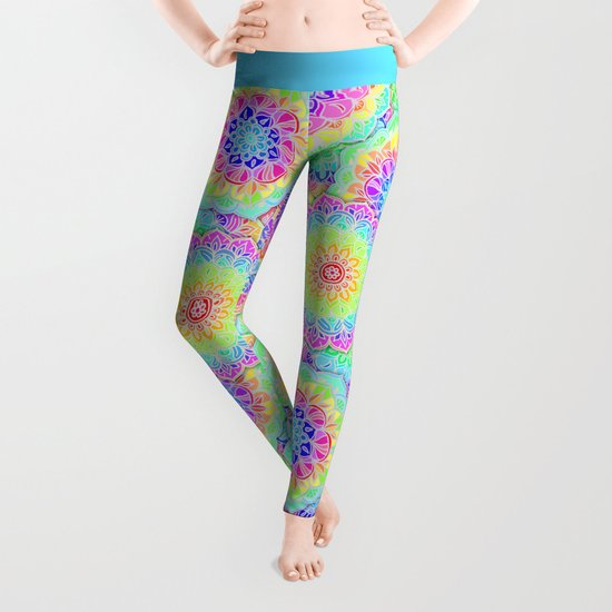 Psychedelic Summer Leggings