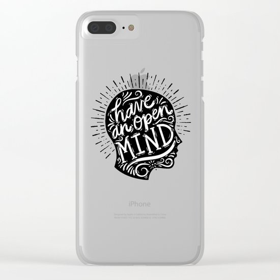 Open Mind Clear iPhone Case