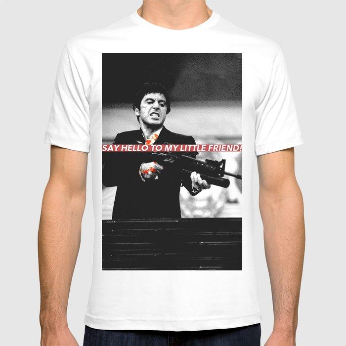 Tony Montana T Shirt By Aleatorio Society6