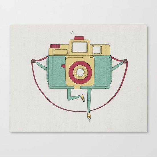 1, 2, 3, click! Canvas Print