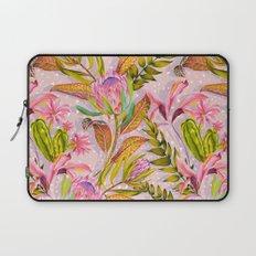 Botanical love pattern Laptop Sleeve