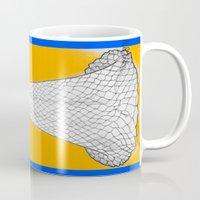 nouveau Mugs featuring Nouveau by Madame Mim