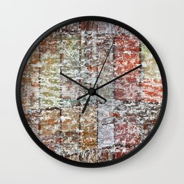 Crumbling down Wall Clock