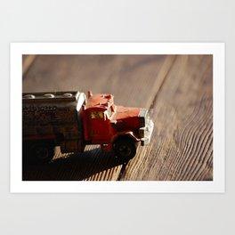 Trucker  Art Print