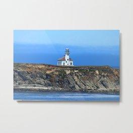 Cape Arago Light Metal Print