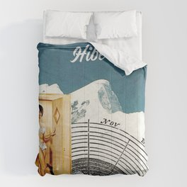 Hibernation! Not just for bears Comforters