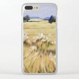 Fields of Gold - Acrylic Clear iPhone Case