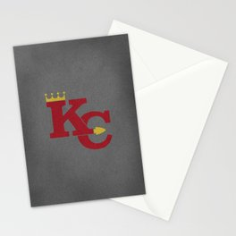 Kansas City Sports Red Stationery Cards