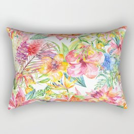 Tropical Burst Rectangular Pillow