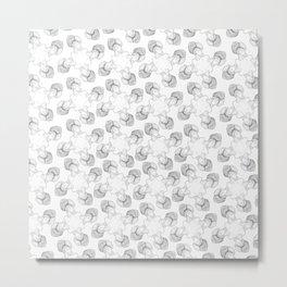 tesla in a turban tessellation Metal Print