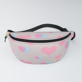 Hearts and Balloons Fanny Pack