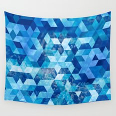 Cold Snowflake Wall Tapestry