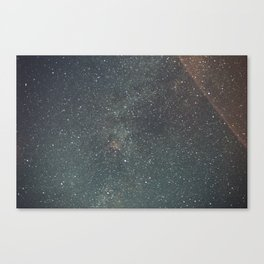 Wyoming By Night Canvas Print