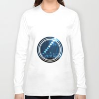 moonrise Long Sleeve T-shirts featuring moonrise  by yahtz designs