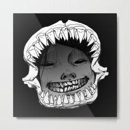 Shark Snark Metal Print