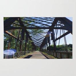 1887 Rail Bridge Rug