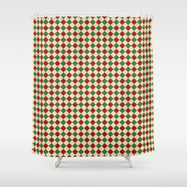 Xmas Pattern 2 Shower Curtain