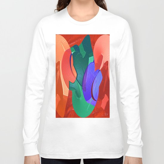 """ 1-2-3 "" Long Sleeve T-shirt"