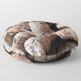 Cork of Champagne Floor Pillow