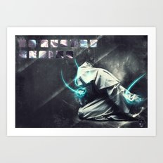 To august realms Art Print