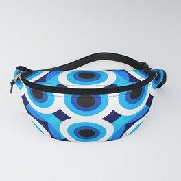 Blue Dot Mod Fanny Pack