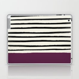 Plum x Stripes Laptop & iPad Skin