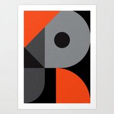 Letter R Art Print